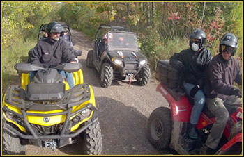 ATVs on the Trail